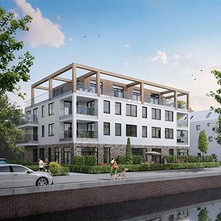 luxe appartementen in Almere Poort
